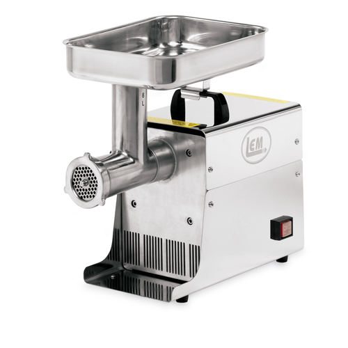 Lem 8 lb 35 hp stainless steel electric meat grinder for Alpine cuisine meat grinder