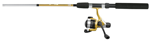 Okuma Steeler B Series Spin Combo 5ft 6in 2pc Med Gold