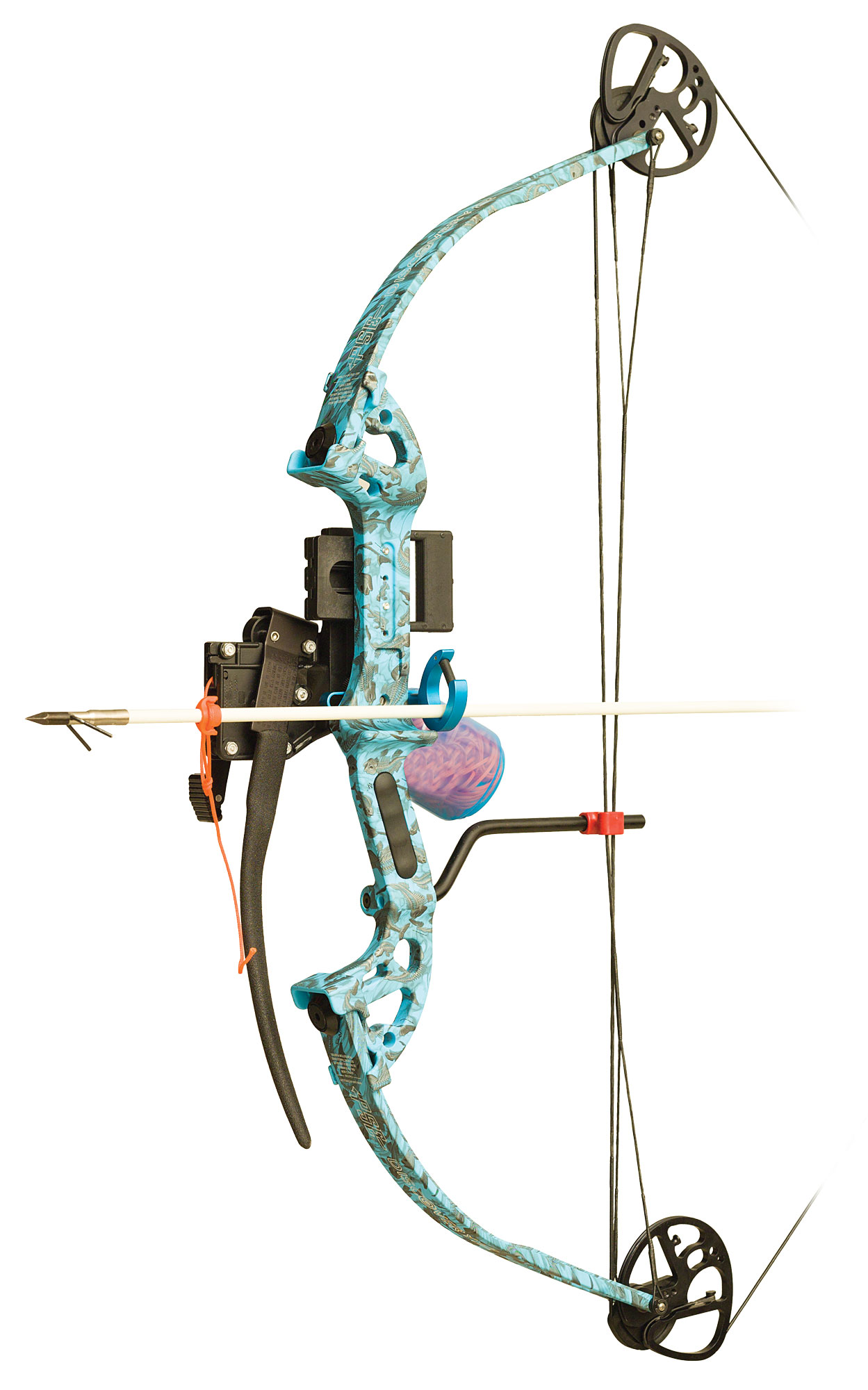 Pse discovery bowfishing bow pkg rh 40lb reaper h2o for Bow fishing bows