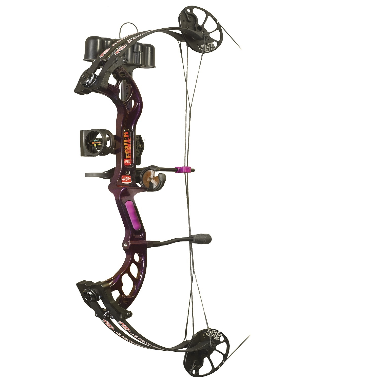 PSE Ready to Shoot, Fever RH Purple Rain 50 Lbs