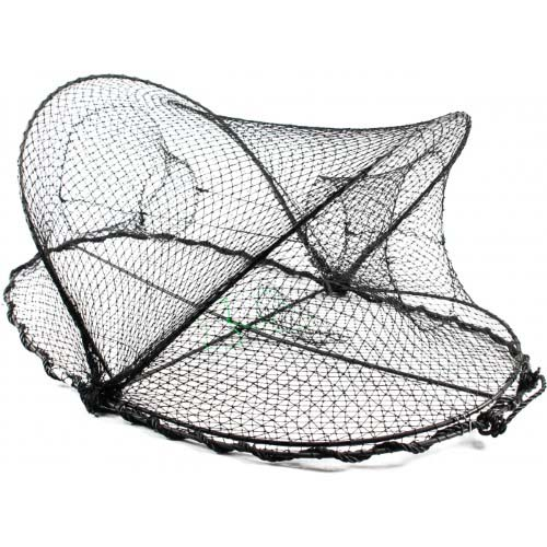 Promar collapsible crawfish crab trap 32 x 20 x 12 for Fishing pole crab trap