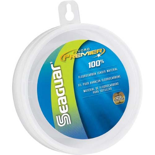 Seaguar fluoro premier 100 fluorocarbon leader 25 yds 30 lb for 30 lb fishing line