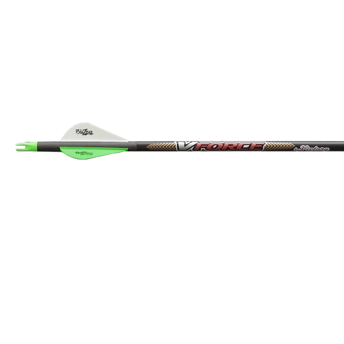 Victory Archery 6pk VForce V1 Carbon Arrow 400 VFV1-400FB-6