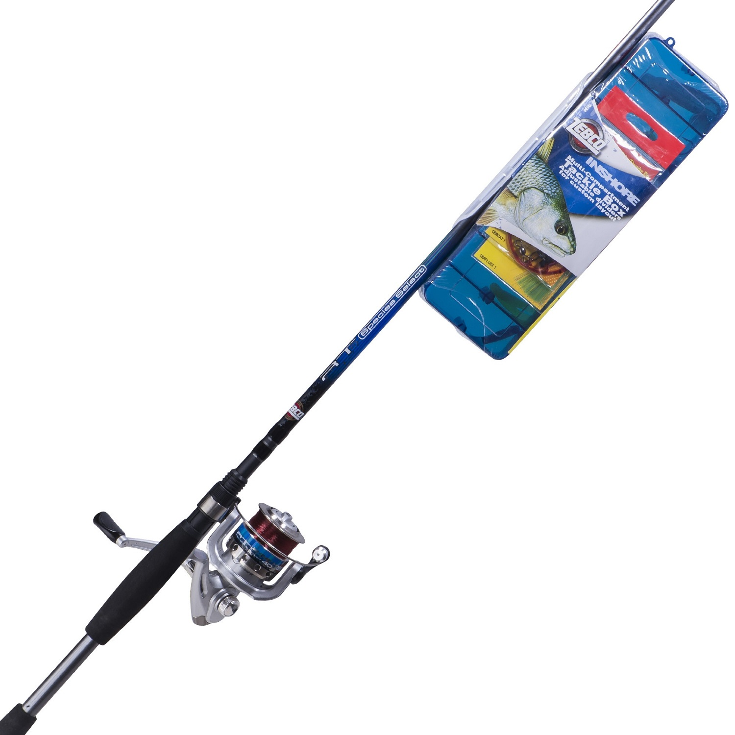 Zebco ready tackle inshore 7 feet medium spin combo for Surf fishing combo