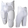 All-Star Integrated Seven Pad Football Pant - White - Size Adult Extra Small