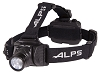 Alps Mountaineering Torch 250 Headlamp Black