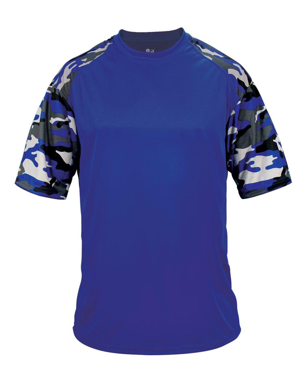 Badger Digital Camo Sport Youth Tee Shirt