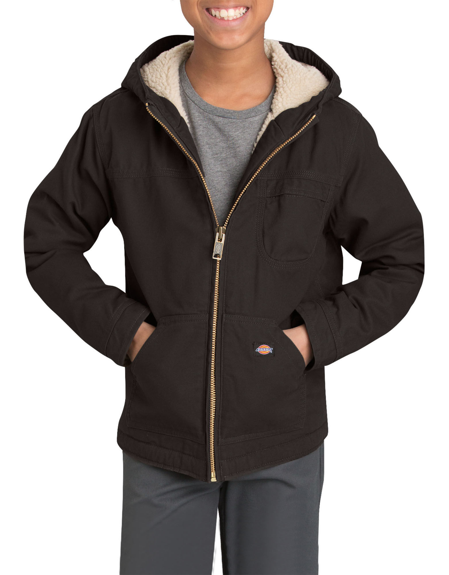 a9042c245 Add to My Lists. Dickies Boys Sherpa Lined Duck Jacket