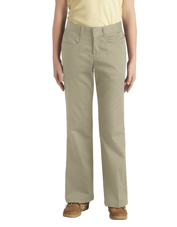 82537d04911 Add to My Lists. Dickies Girls Boot Cut Stretch Twill Pant 7-20