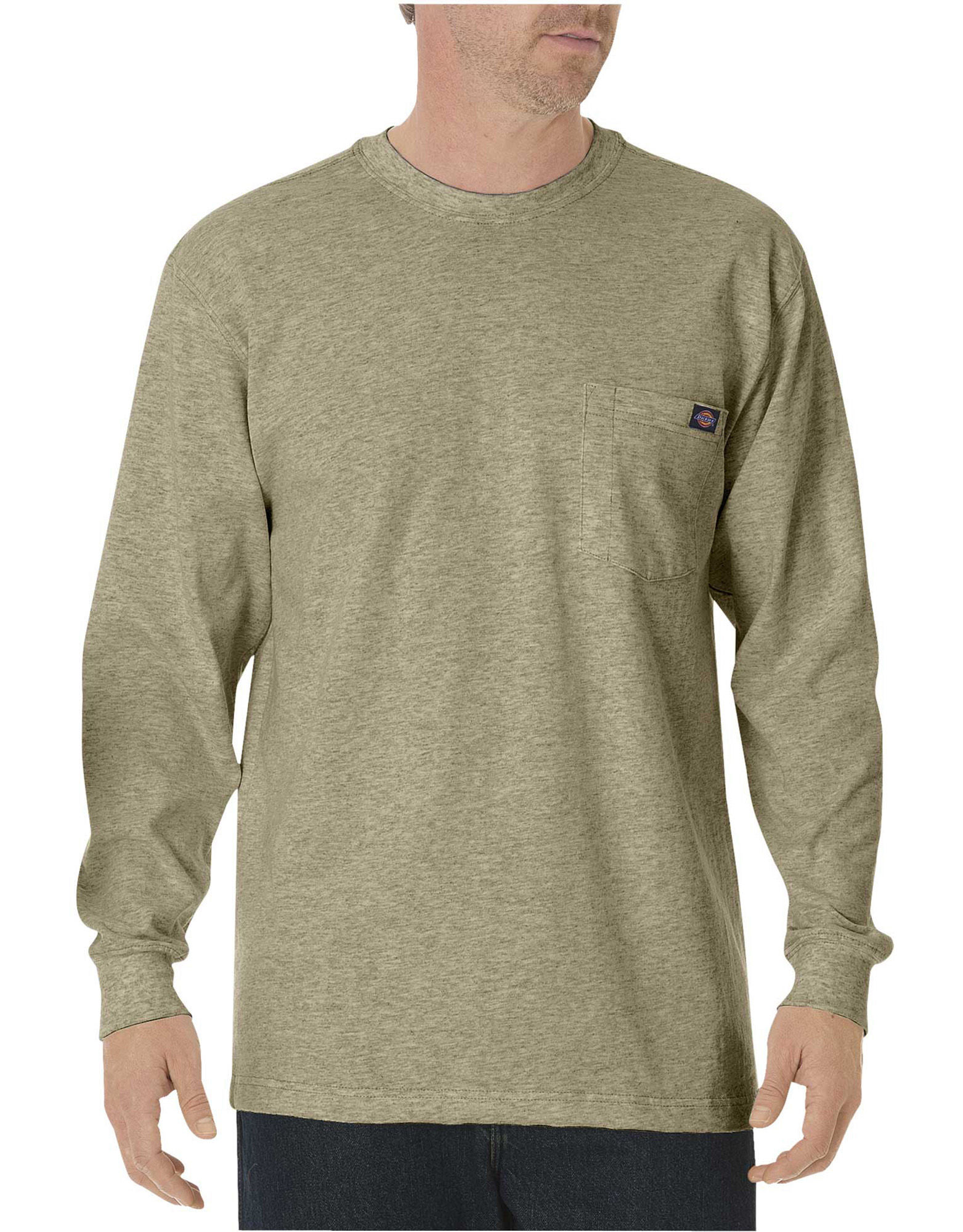 8317fe28 Add to My Lists. Dickies Mens Long Sleeve Heavyweight Crew Neck