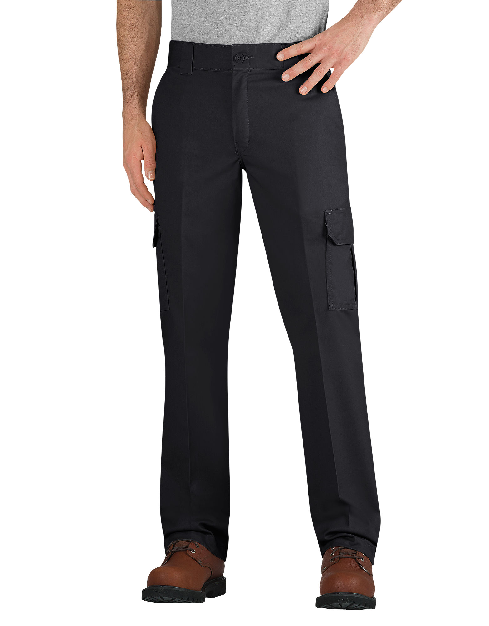 Dickies Mens Slim Fit Straight Leg Cargo Work Pant Wp594