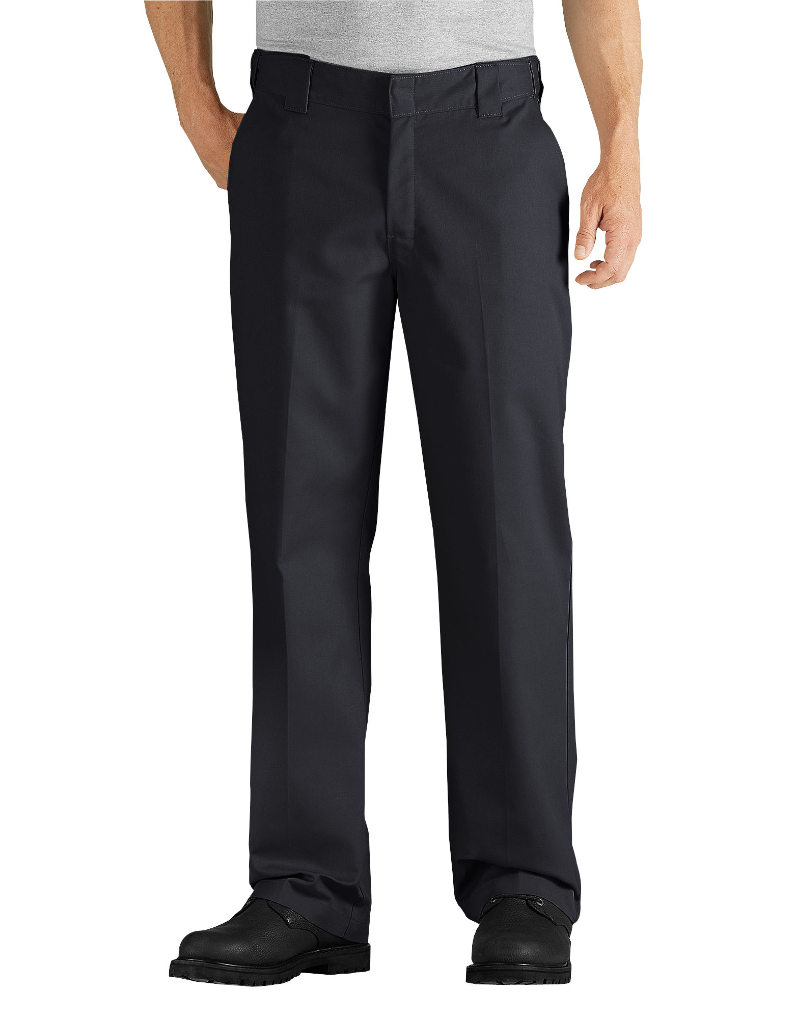 de28db7a Dickies Mens Relaxed Fit Straight Leg Comfort Waist Work Pant WP824
