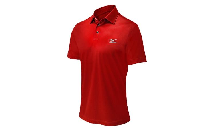 mizuno mens comp polo baseball tee shirt 350530