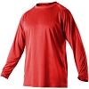 Alleson Youth Heather Tech Long Sleeve Shirt