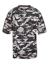 Badger Sports Youth Camo Tee Shirt