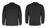 Badger Mens B-Hot Long Sleeve Loose Mock