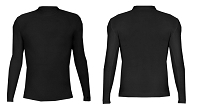 Badger Mens B-Hot Long Sleeve Mock