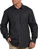 Dickies Mens Relaxed Fit Icon Long Sleeve Solid Shirt