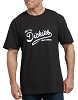 Dickies Mens Relaxed Fit Dickies Script Graphic T-Shirt