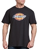 Dickies Mens Vintage Dickies Logo Graphic T-Shirt