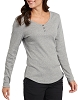 Dickies Womens Long Sleeve Henley Shirt