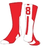 Frazier Sports Player ID Number Socks