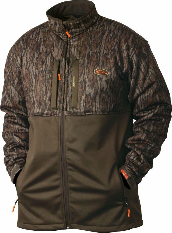 Drake non typical silencer double impact full zip for Drake fishing shirts