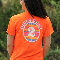 Buck Girl Adult GH2 Orange Aztec S/S Tee