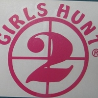 Buck Girl Girls Hunt 2 Decal