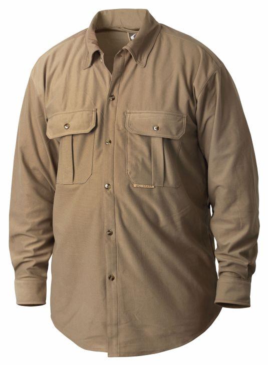 Drake three pocket micro fleece shirt for Drake fishing shirts