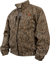 Drake Non-Typical Silencer Fleece Coat - Mossy Oak Bottomland - Size Medium