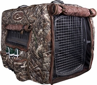 Drake Deluxe Adjustable Kennel Cover