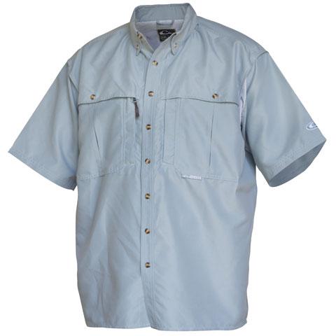 Drake wingshooters shirt short sleeve for Drake fishing shirts