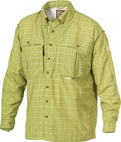 Drake Wingshooters Plaid Sun Shirt