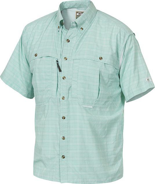 Drake wingshooters plaid sun shirt for Custom sun protection shirts