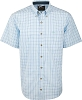 Drake Big Easy Plaid with StayCool Fabric S/S