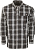 Drake Wingshooter's Small Check Plaid L/S Shirt