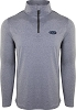 Drake Microlite Performance Half Zip Heathered