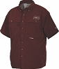 Drake Mississippi State Cotton Wingshooter's Shirt Short Sleeve