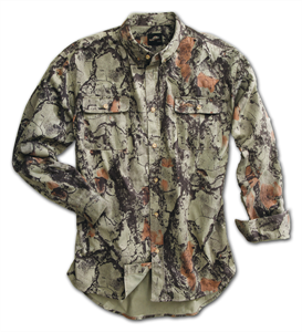 Natural Gear Bush Shirt Natural Camo