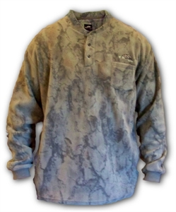 Natural Gear Layering Fleece Henley - Size Large