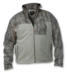 Natural Gear Full Zip Fleece Hybrid Jacket