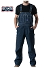 Wall Mens Rigid Denim Bib Overall