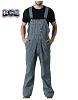 Walls Mens Hickory Stripe Bib Overall