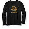 Lacrosse Long Sleeve Black Waterfowl Tee