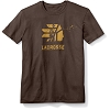 Lacrosse Short Sleeve Brown Waterfowl Tee