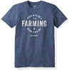 Lacrosse Short Sleeve Farming Blue Tee