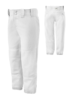 Mizuno Girls Softball Belted Baseball Pant