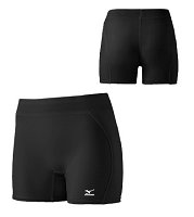Mizuno Womens Low Rise Padded Sliding Baseball Short