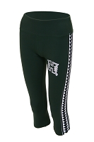 Hawaii Rainbow Warriors Triangle Womens Yoga Capri Pant